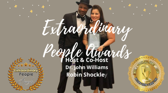 Host of Extraordinary People Awards