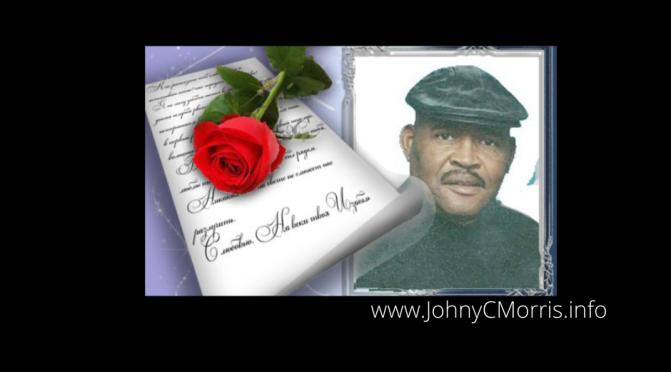 Welcome Author, Eld.Johny C.Morris