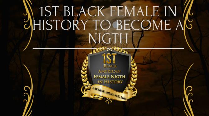 1st Female Black American Nigth